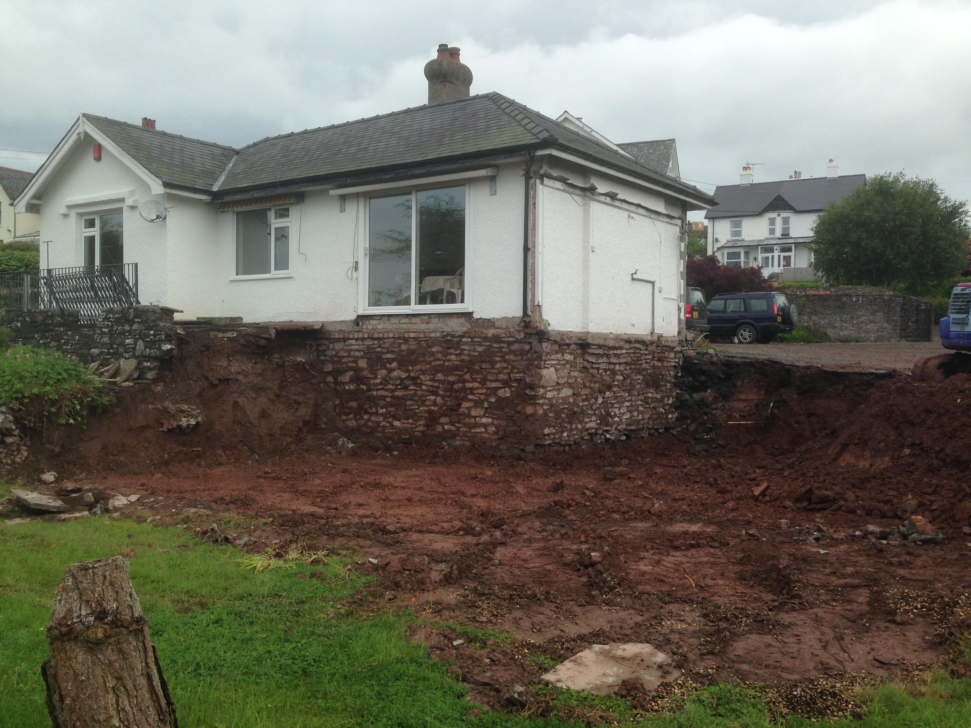 garden dug out